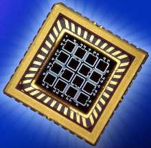 Photodetector has silicon 4 x 4 array.