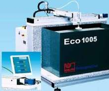 Water Jet Cutting System handles variety of materials.