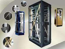 Welded Equipment Cabinets meet Zone 4 seismic specs.