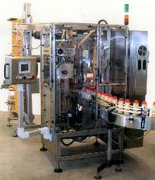 Shrinksleeve Labeler suits high-volume applications.