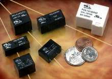 PCB Relays are offered in 6 series and 3 package types.