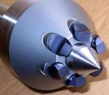 Micro-Serrated Drive Pins enhance workholding capability.