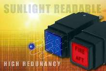 Pushbutton Switches offer dual and quad LED design.