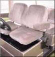 Low Speed Vehicles have adjustable bucket seats.