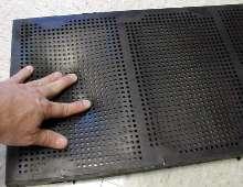 Screening Media prevents blinding in moist applications.