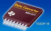 Analog-to-Digital Converter features 50 kHz bandwidth.