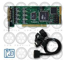 Serial Communication Card suits low-profile PCs and servers.