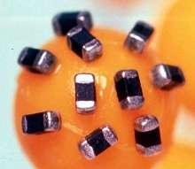 Metal Oxide Varistor protects against transient surges.