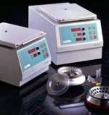 Microcentrifuges offer intelligent control.