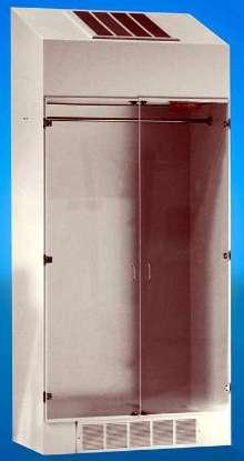 Filtered Storage Cabinet removes airborne contamination.