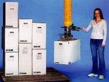 Vacuum Tube Lifter handles multiple corrugated boxes.