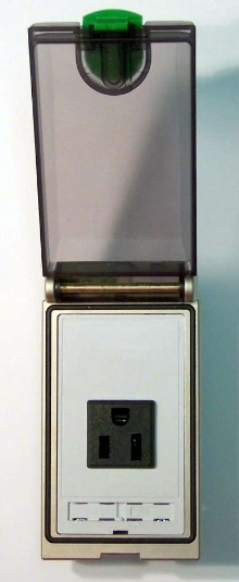 Transparent Front Panel Interface is protected to IP65.