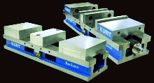 Jaw Vises provide repeatable clamping to 0.001 in.