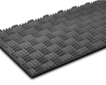 Colored Foam Panels provide acoustical control.