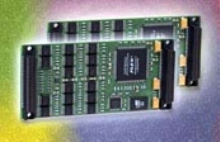 Modules offer sixteen 16 bit D/A converters per board.