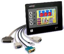 HMI Panel Web-enables 5 serial devices simultaneously.