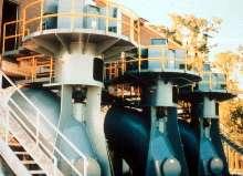 Custom Pumps meet large capacity requirements.