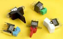 Miniature Switches are rocker and paddle actuated.