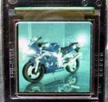 Color Display is suited for security applications.