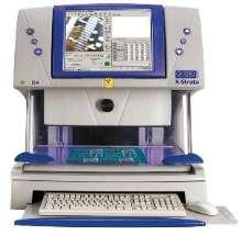 XRF Analyzer measures coating thickness.