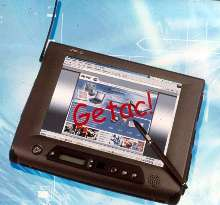 Tablet PC is water, dust, and dirt proof.