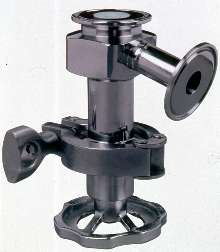 Sanitary Valve is suited for pharmaceutical industry.