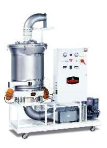 Fluid Bed Dryers/Coolers range from 48-84 in. diameter.