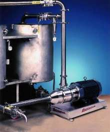 Sanitary Mixer suits batch and continuous processes.