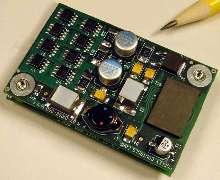 Servo Amplifiers mount on equipment circuit boards.