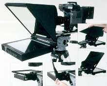 Portable Teleprompter delivers studio quality.