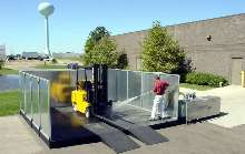 Aboveground Washing System features closed-loop operation.