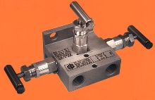 Valve Manifold features single mounting flange.