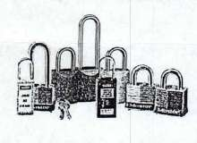 Safety Lockout Padlocks come in aluminum, steel, or Xenoy.