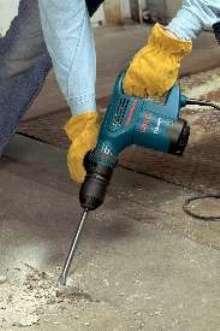 Chipping Hammer Includes Tile Chisel - Best demolition hammer for tile removal