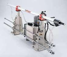 Bar Feeder utilizes hydrodynamic forces for operation.
