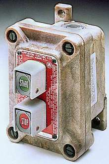 Control Stations withstand impact, corrosion, and flames.