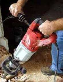 Rotary/Demolition Hammers deliver 19.9 lb-ft blow energy.