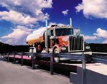 Truck Scales offer 90,000 lb concentrated load rating.