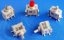 Toggle and Pushbutton Switches are process-sealed.