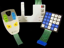 Membrane Switch Panels target medical industry.