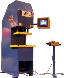 Hybrid Press utilizes servo-motion control.