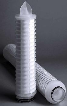 Depth Filter Cartridge has spiral design for optimal flow.