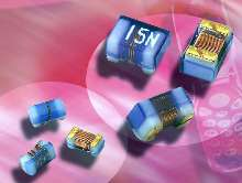 Inductors are packaged in 0402 and 0603 case sizes.