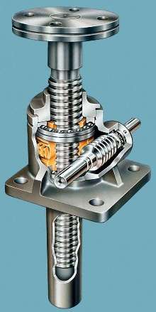 Machine-Screw Actuator is rated for 3 ton capacity.