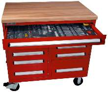 Tool Cabinet helps prevent foreign object damage.