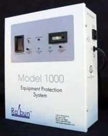 Surge Protector detects and protects against lightning.