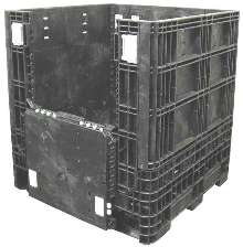 Collapsible Containers feature 32 x 30 in. footprint.