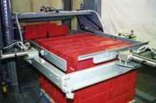 Plastic Tote Palletizer features automatic changeover.