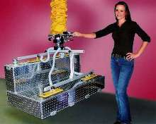 Vacuum Lifter Attachment holds odd-shaped loads.