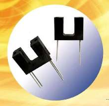 Slotted Optical Switch performs non-contact object sensing.